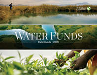 The Water Funds Field Guide captures The Nature Conservancy (TNC) and partners recommended best practices process for scoping, designing, creating, and operating Water Funds as of 2018.